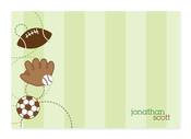 Product Image For My Love for Sports Note Card