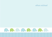 Product Image For Cute Elephant Note Card