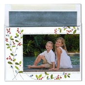 Product Image For Holiday Berries folded Photo Card