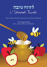 Product Image For Bees and Honey Invitation