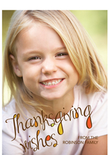 Product Image For Thanksgiving Wishes Invitation