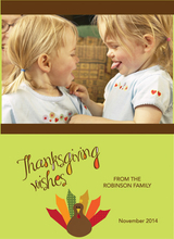 Product Image For A Thanksgiving Wish Invitation
