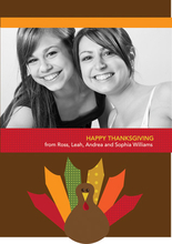 Product Image For Bold Turkey Invitation