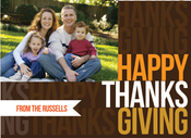 Product Image For Thanksgiving Message Invitation