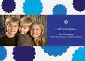 Product Image For Hanukkah Rosettes Photo Card