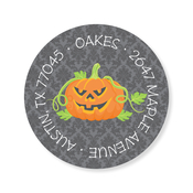 Product Image For Halloween Place Setting Label