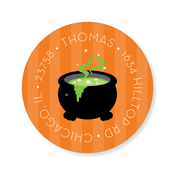 Product Image For Halloween Squares Label