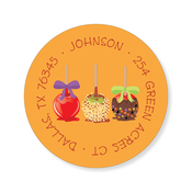 Product Image For Candy Apples Label