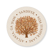 Product Image For Autumn Tree Label