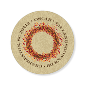 Product Image For Berry Wreath Label