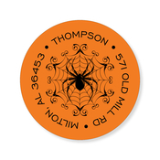 Product Image For Spooky Spider Orange Label