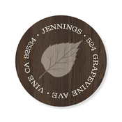 Product Image For Woody Leaves Label