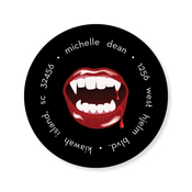 Product Image For Vampy Lips Label