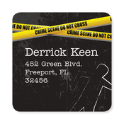 Product Image For Murder Mystery Party Label