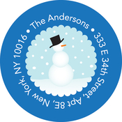 Product Image For Mr. Snowman Label
