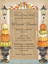 Product Image For Harvest Door Invitation
