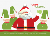 Product Image For Santa and Elves Invitation