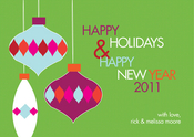 Product Image For Hanging Ornaments (Green) Invitation