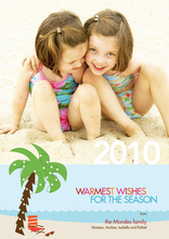 Product Image For Tropical Wishes Photo Card