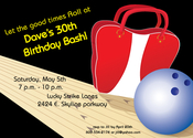 Product Image For Bowling Bash Invitation