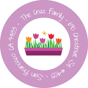 Product Image For My Bucket of Tulips Label