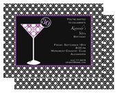 Product Image For Martini Lover Invitation