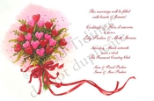 Product Image For Heart Bouquet Invitation