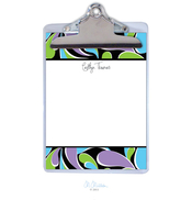 Product Image For Twirl Personalized Clipboard