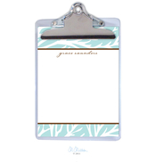 Product Image For Coral Personalized Clipboard