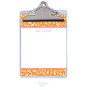 Product Image For Petals Personalized Clipboard