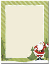 Product Image For Jolly Santa Claus Laser Paper