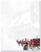 Product Image For Santa's Sleigh Laser Paper