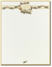 Product Image For Vintage Holly Paper