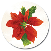 Product Image For Poinsettia Swirl Seal
