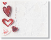 Product Image For Paper Hearts Post Card