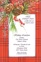 Product Image For Country Pine Invitation