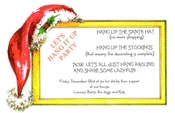 Product Image For Santa's Home Invitation