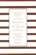 Product Image For Middy Stripe Coco Border Invitation