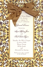 Product Image For Ocelot Invitation
