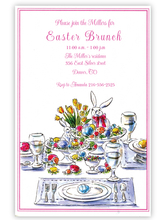 Product Image For Easter Table Invitation