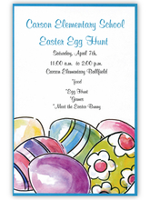 Product Image For Painted Eggs Invitation
