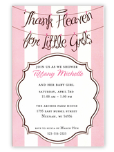 Product Image For Angel Girls Invitation / Announcement