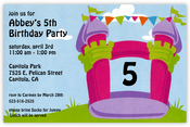 Product Image For Bounce Girl Invitation