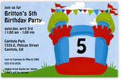 Product Image For Bounce Castle Invitation