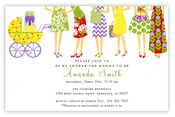 Product Image For Showering Baby Invitation