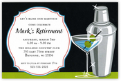 Product Image For Martini Gleam Invitation