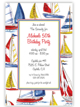 Product Image For Sailing Invitation