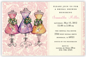 Product Image For Mannequin Maids Invitation