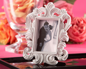Product Image For White Baroque Elegant Place card holder/ Frame