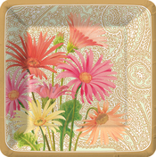 Product Image For Daisies Elegance Dessert Plate